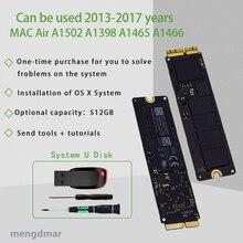Original 512G SSD 2013 2014 2015 an pour Apple Macbook Pro Retina A1502 A1398 Air A1466 A1465 SSD SSD disque dur 512G MAC SSD