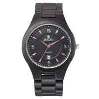 relogio masculino wriswatch ebony wooden watch single calendar casual fashion quartz watch manufacturer wholesale watch