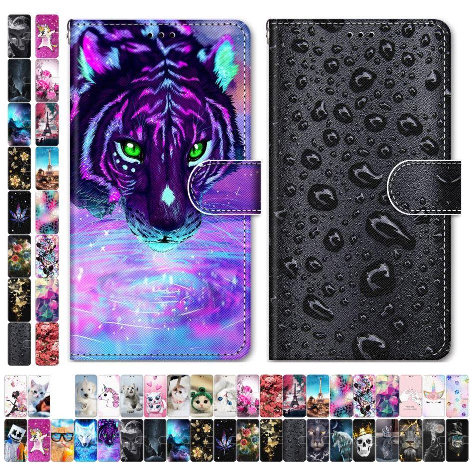 Boys Girls Kids Lovely Phone Bags For Case Samsung Galaxy A20S A20E A2 Core A10S A10 Animal Flower T