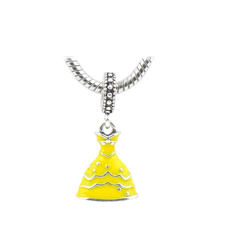 Buyee 925 de plata esterlina de la joyería de DIY Findding colgante encantos de las mujeres espaciador cuentas Original Pandora encantos de la joyería de la pulsera