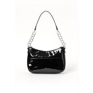 2020 Women Hand Bag Patent Leather Single Shoulder Bags Satchel Armpit Package Fashion Elegant Style Baguette Handbags
