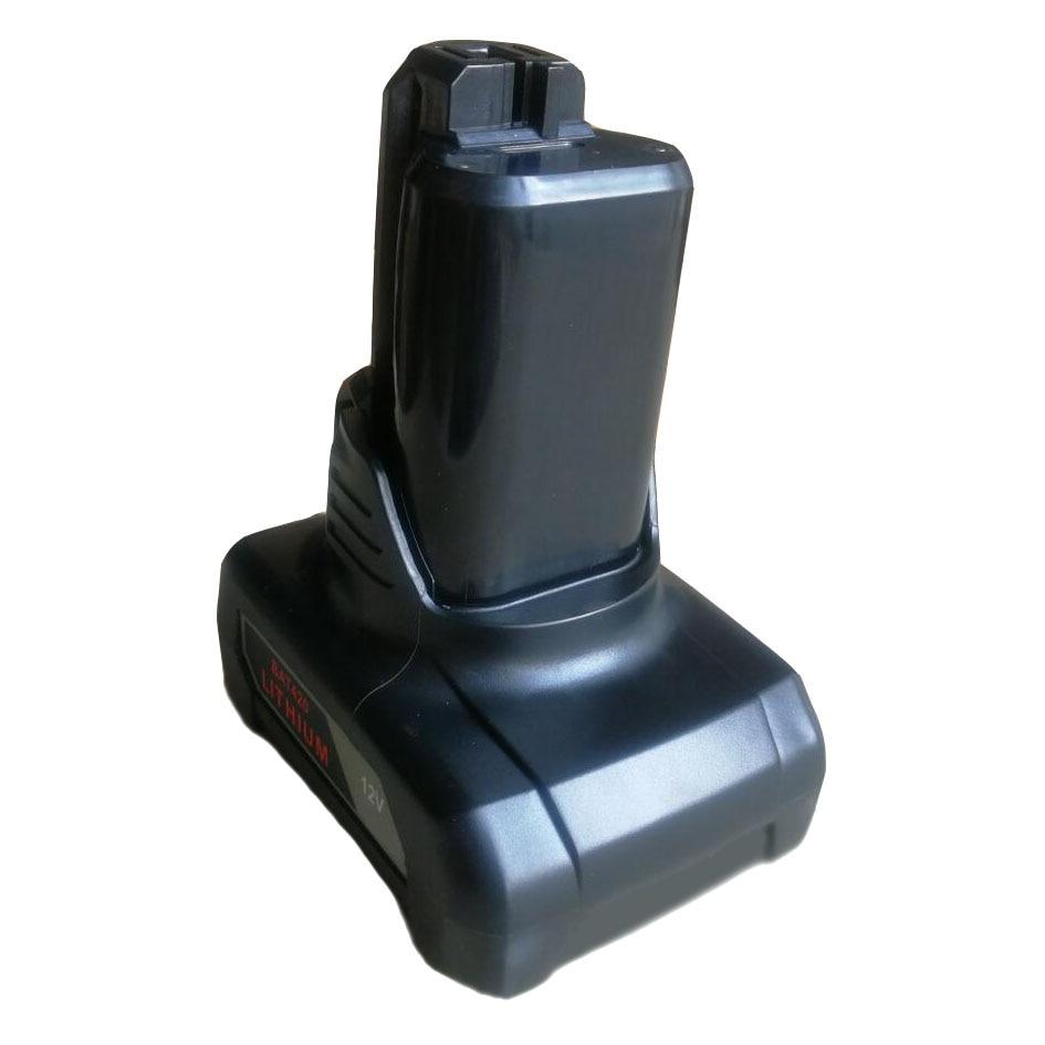 BAT411 BAT420 Li-ion Battery Plastic Case Shell Box PCB charging Protection Board Label For Bosch 10.8V 12V BAT412A BAT413A