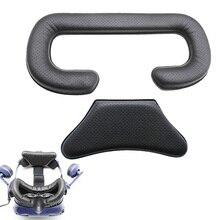 Leer Spons Kussen Vervanging Foam Maskers Hoofd Pad voor VR VIVE PRO Headset, Eenvoudige Installatie