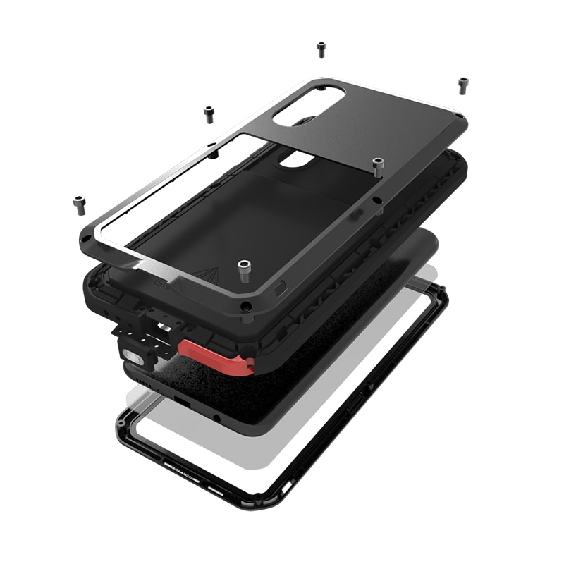 Armor Metal Shockproof For Samsung Galaxy A72 A50 A51 A52 A32 A41 A21 A71 5G A20 A70 A30s S21 S20 Fe Plus Case Cover Funda Coque