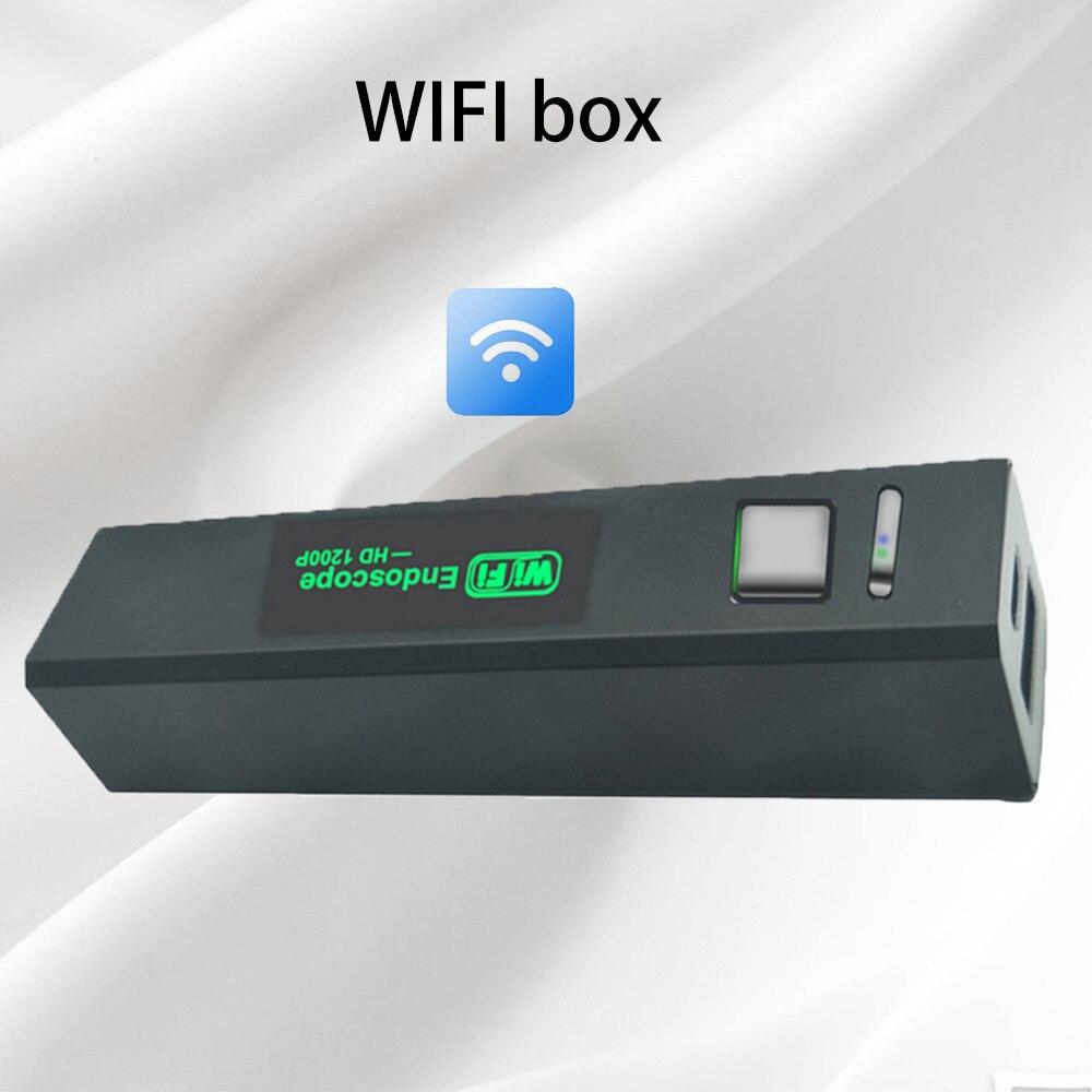 صندوق إرسال Wifi لعدسة 5.5 مللي متر و 7 مللي متر و 8 مللي متر ، متوافق مع جميع أجهزة Android و IOS