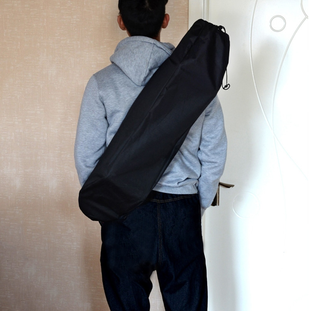 Mochila resistente al desgaste accesorios sólidos Unisex Oxford tela impermeable negro cubierta Longboard viaje bolsa de monopatín ajustable