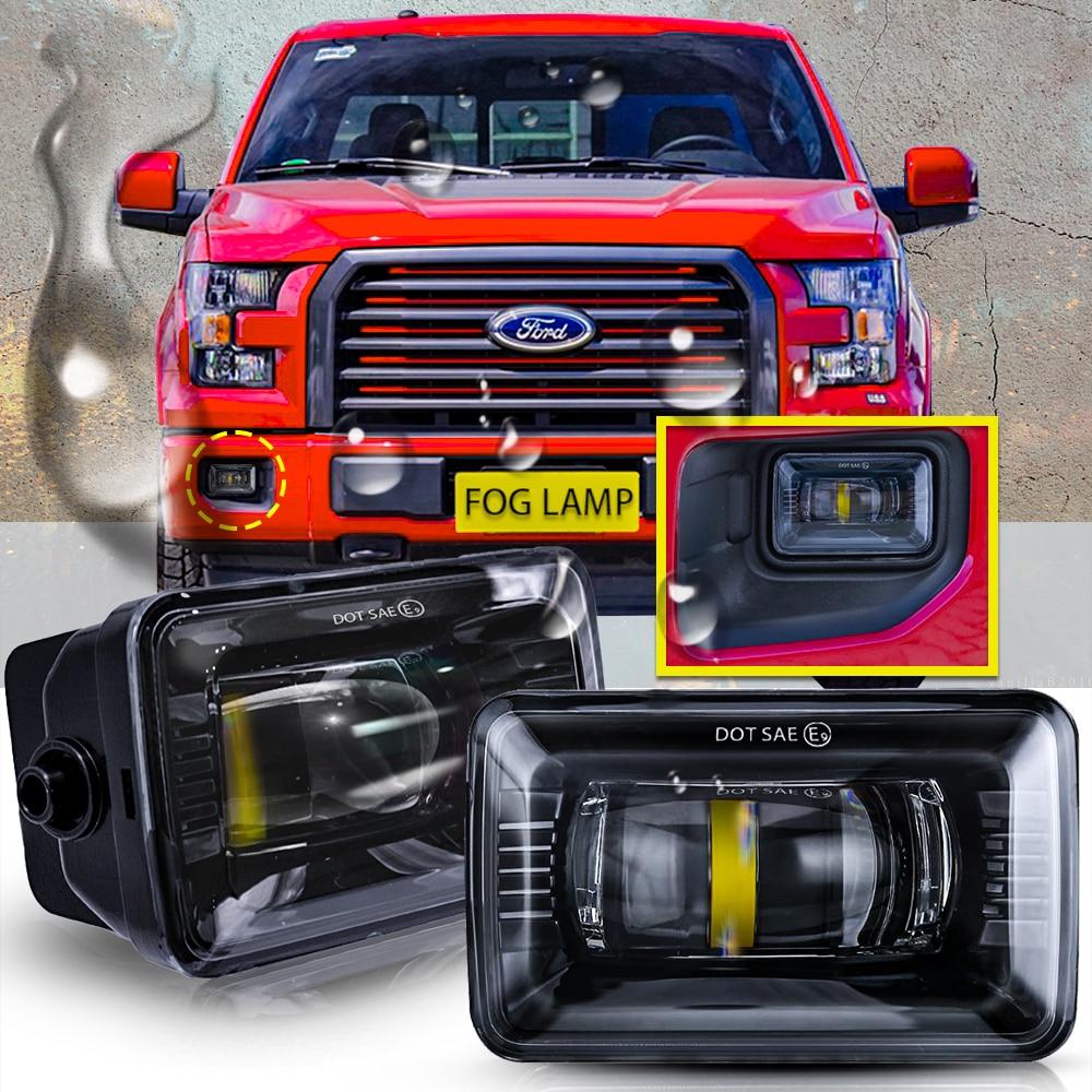 Faros antiniebla LED negros para Ford F150 Morimoto, 2015, 2016, 2017, ajuste directo, 1500 lúmenes, nuevo par