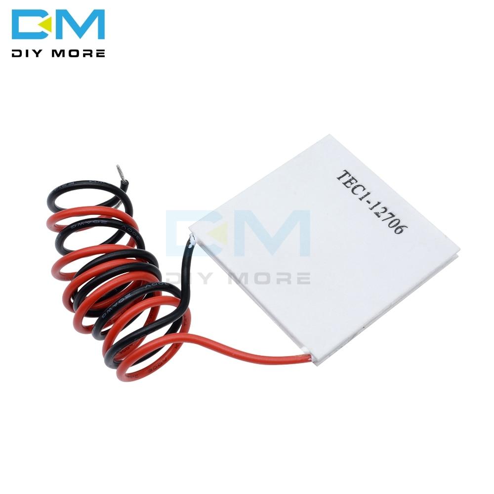 TEC1-12706 12706 TEC Thermoelectric Cooler Peltier 12V TEC112706 Heatsink Plate Module  New Of Semiconductor Refrigeration