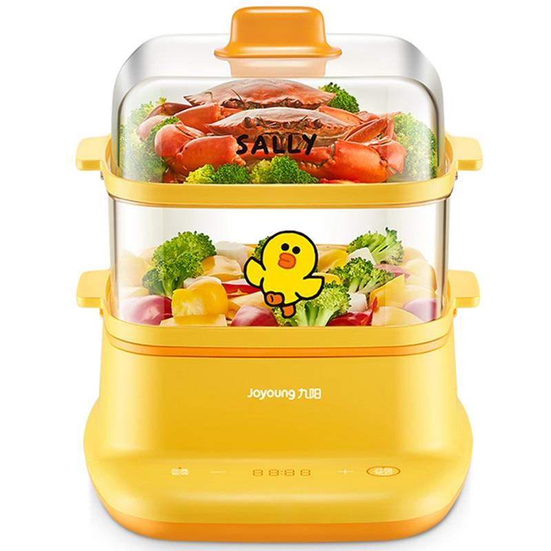 Joyoung 8L التلقائي مبخرة كهربائية 2 طبقات متعددة الوظائف الغذاء تبخير الطبخ وعاء موقد متعدد الوظائف الإفطار صانع