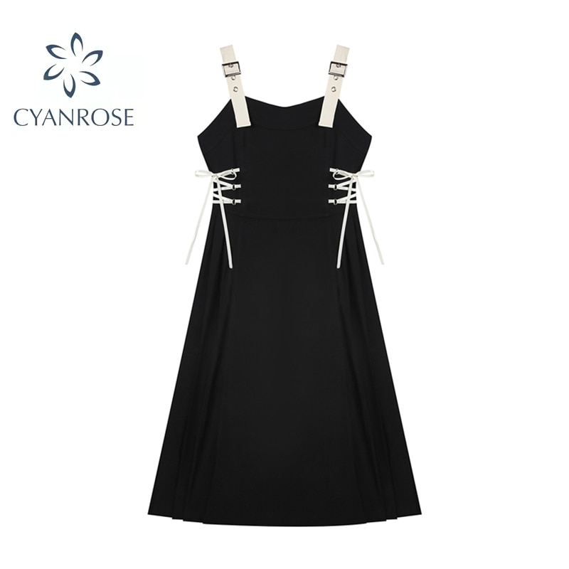 2021 Fashion Vintage Chic Dress Party Women Off Shoulder Drawstring Lace Up Bow Female Waist Cross Lace Up Sexy Vestidos Autumn