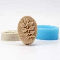new leaf soap mold oval silicone soap molds for diy soap making