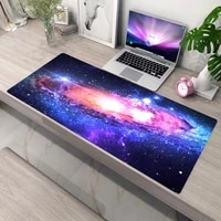 starry sky mouse pad pc gamer cabinet computer pad mat desk anime mousepad xxl large gaming mouse mat mouse gamer rubber deskmat