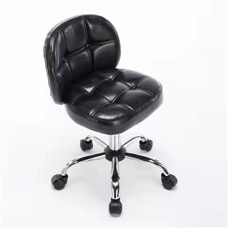 computer chair home office chair chair can be reclined 39 Computer Chair Home Simple Backrest Chair Office Chair Small Sitting Chair Pulley Student Study Desk Chair