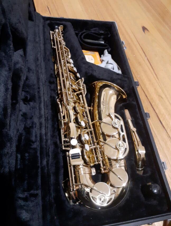 Nova marca jupiter 500 série JAS-500 saxofone alto eb sax instrumentos de música boa condição