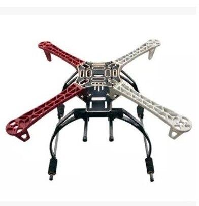 F450 450 Quadcopter de MultiCopter marco kit W/negro con engranaje de aterrizaje alto Skid para F450 F550 SK480 FPV