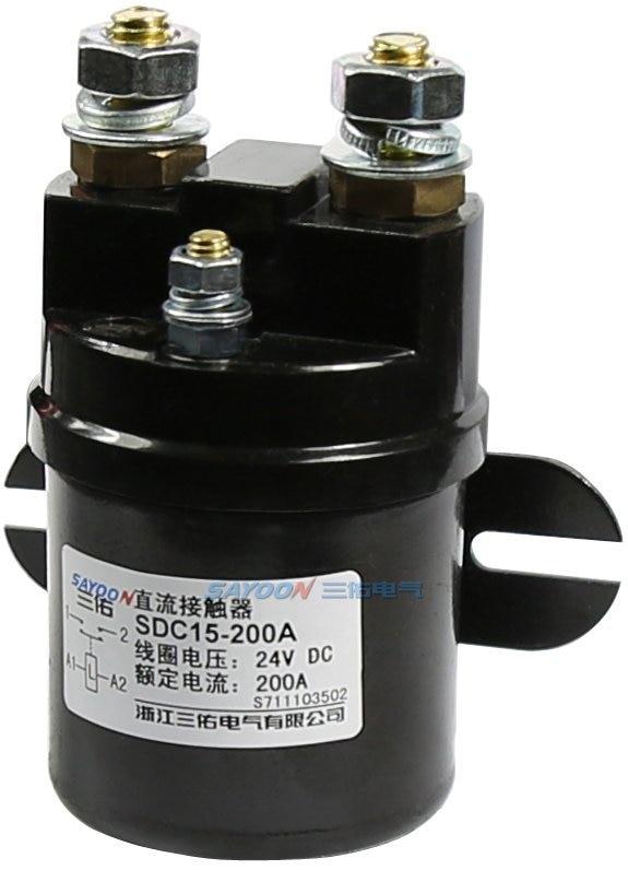 SDC15-300A DC6V 12 فولت 24 فولت 36 فولت 48 فولت 60 فولت 72 فولت 300A قواطع تستخدم للمركبات الكهربائية والآلات الهندسية وهلم جرا.