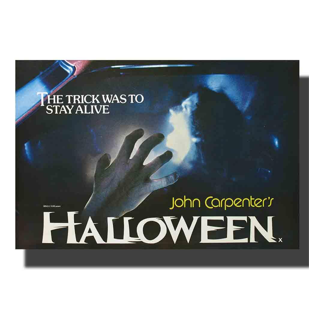 M761 filme de halloween poster de seda 14x21 24x32 impressão quadros em tela decoração personalizado 24x36in