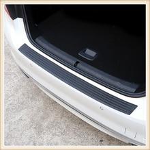 Barra de protección del maletero del coche alféizar protector trasero pegatina de protección para Audi I Ah A8 A3 A4 A6 A5 Q7 R A3 3-puerta
