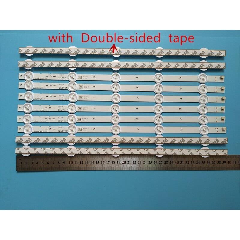 جديد كيت 100 قطعة 5LED 395 مللي متر LED الخلفية قطاع ل KDL40R450A KDL-40R473A SVG400A81_REV3_121114