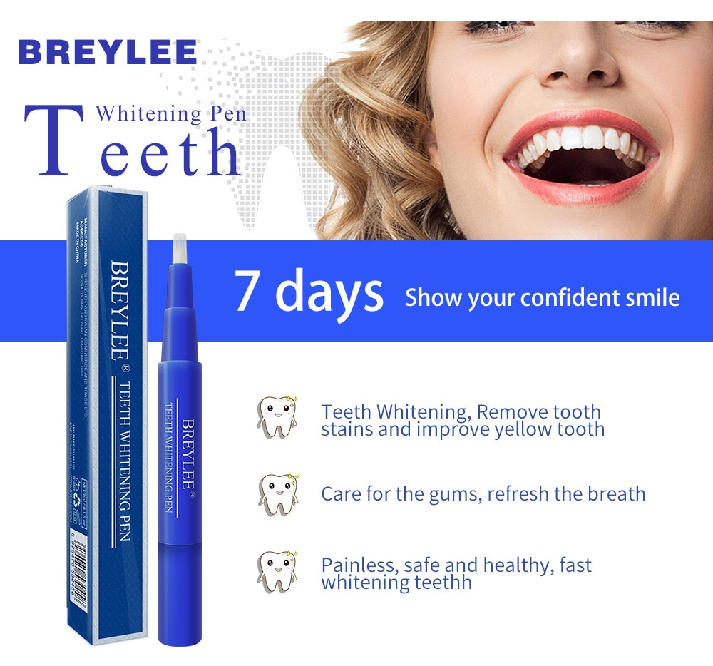 Oral Hygiene Essence Dentistry Cleaning Teeth Whitening Pen Brush Tooth Care Removes Plaque Stains Serum Dental Tools