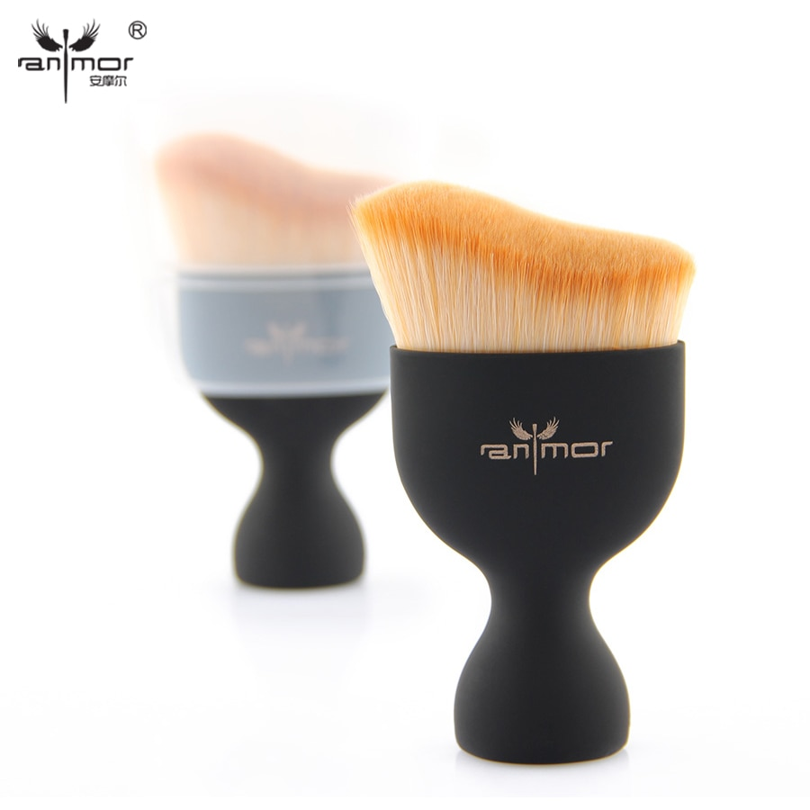 Anmor Kontur Foundation Make Up Pinsel Professionelle Creme Make-Up Pinsel Lose Pulver Pinsel Multifunktionale Kosmetische Kit Werkzeuge