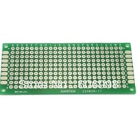 10pcs/lot 3x7cm Double Side Prototype PCB Universal Printed Circuit Board DIY Experimental Plate