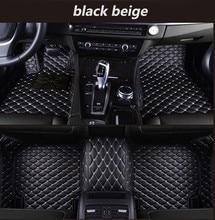 Tapis de sol de voiture sur mesure pour Volkswagen VW passat golf touran tiguan sharan jetta Variant UP Multivan Scirocco magotan Phaeton polo