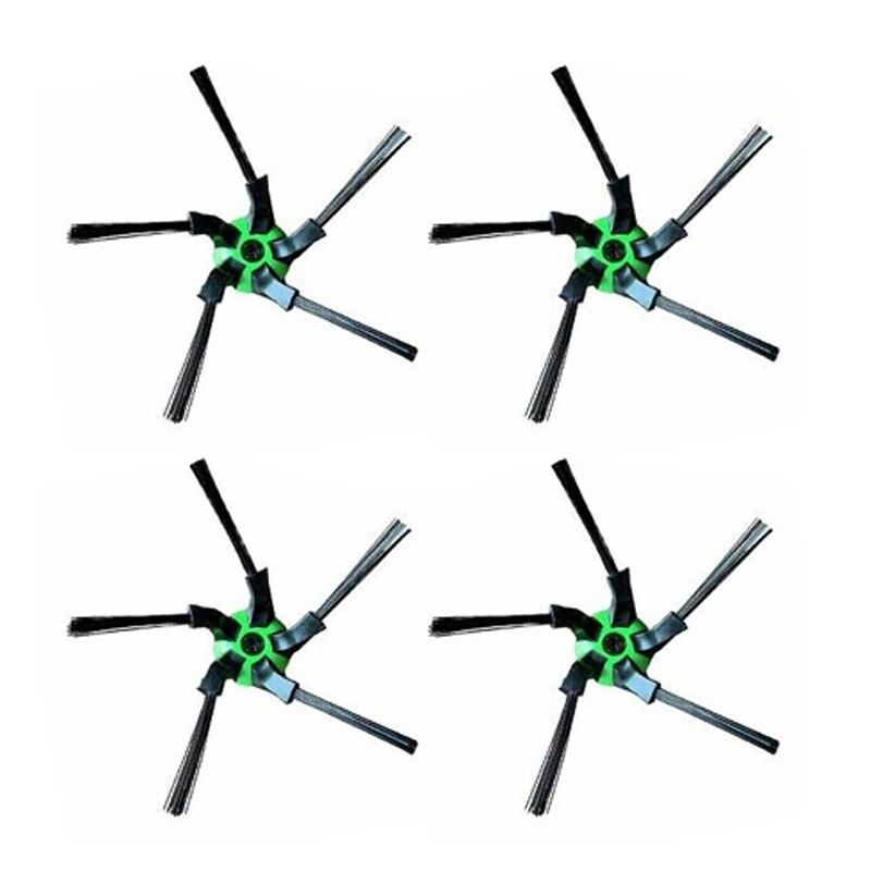4 Uds Cepillo Lateral para IROBOT ROOMBA S9 S9 + barriendo accesorios de Robot aspirador
