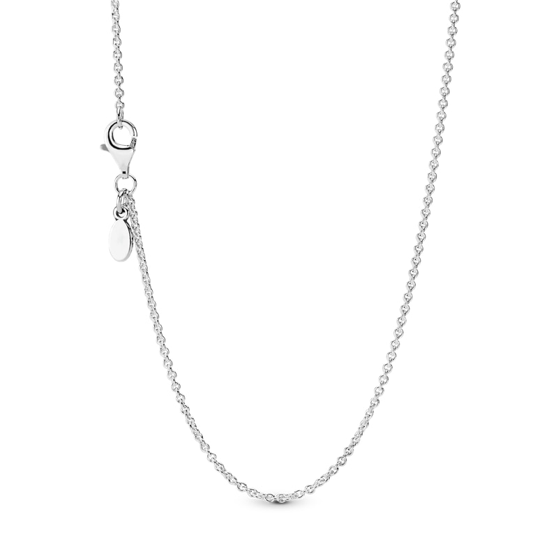 HOT Sale 925 Sterling Silver Classic Fashion Cable Chain Necklace Chain Sterling Silver Jewelry Gift