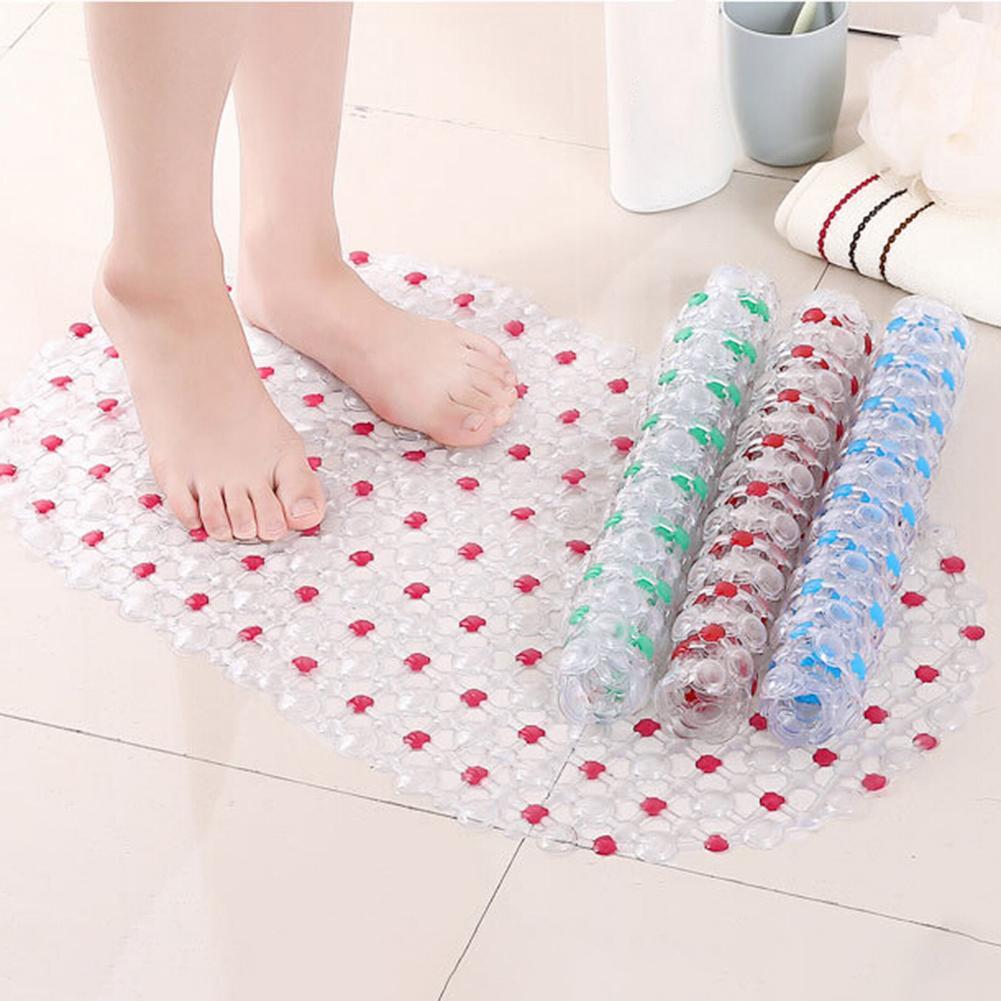 65x36 см прозрачный коврик для ванной комнаты, противоскользящий ПВХ коврик для ванной комнаты, набор аксессуаров для ванной комнаты