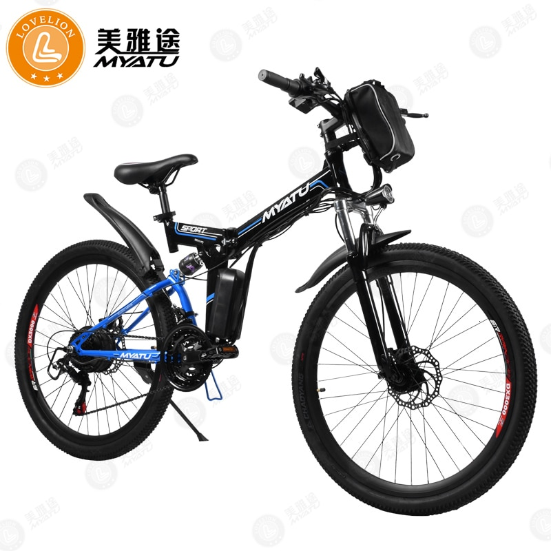 [MYATU] bicicleta eléctrica de playa eléctrica, bicicleta de montaña para hombre con neumático ancho de 4,0, bicicleta eléctrica de 48V, bicicleta para nieve de 26 pulgadas