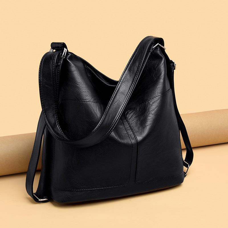 Tamara Large Capacity Women Hobos Bag Multifunction Vintage Female Messenger Bag Designer Shoulder Bag Top-handle Bag Sac A Main