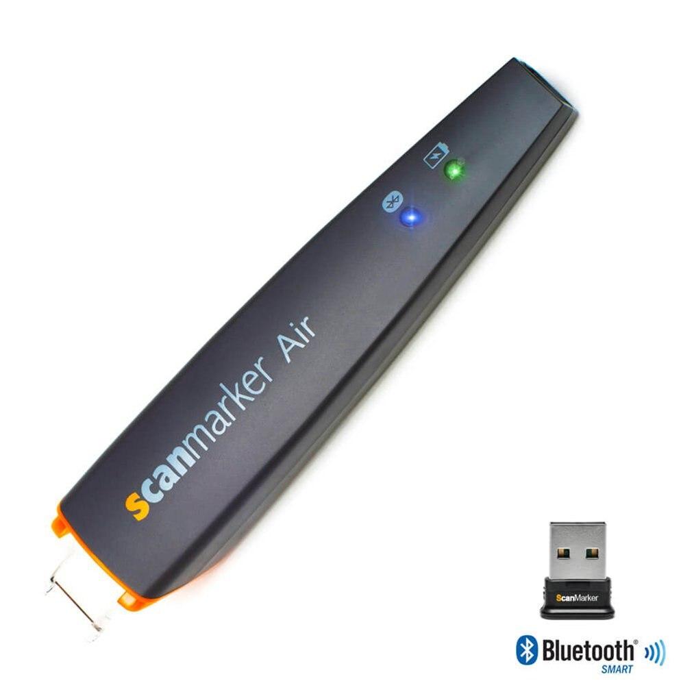 Scanmarker Air Pen Scanner inalámbrico OCR Digital resaltador y lector soporta 50 idiomas