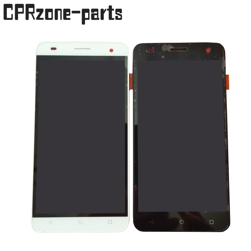 """5.0"""" Black / White For Fly Cirrus 2 FS504 LCD Display With Touch Screen Digitizer Sensor Panel Assembly"""
