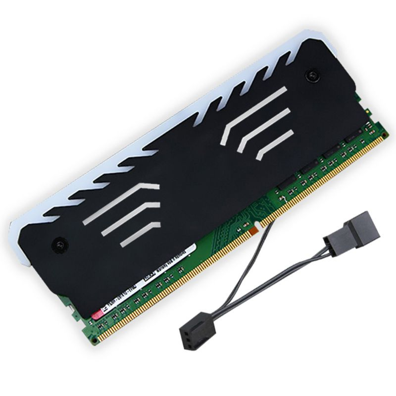 Новая память-RAM RGB охладитель радиатор охлаждающий жилет для DIY ПК игры DDR DDR3 DDR4