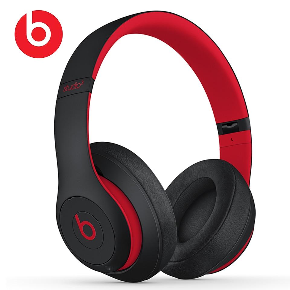 Beats Studio3 Senza Fili di Bluetooth Cuffie Studio 3 Noise Cancelling Auricolare Musica Sport Profonda Bass Auricolare a Mani L
