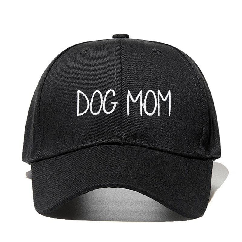 2019 novo CÃO Pai MÃE Bordado Ajustável Tampão de golfe do algodão ajustável Chapéu boné de beisebol unisex sólida Hop chapéus snapback cap