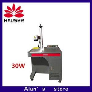 Free shipping 30W Fiber laser engraver machine co2 laser marking machine marking laser cutter metal machine metal carving diy