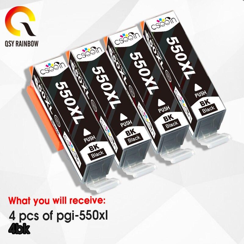 4BK PGI 550 551 compatible ink cartridge for canon PIXMA IP7250 MG5450 MX925 MG5550 MG6450 MG5650 MG6650 IX6850 MX725 MX925 6 pack pgi 550 cli551xl ink cartridge compatible for canon pixma ip7250 mg5450 mx925 mg5550 mg6450 mg5650 mg6650 ix6850 mx725