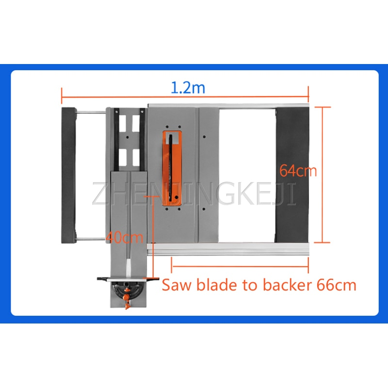 Thicken Flip Board Reversible Engraving Machine Trimmer Carpentry Sliding Table Saw Electric Tool Cutting Machine Flip Board