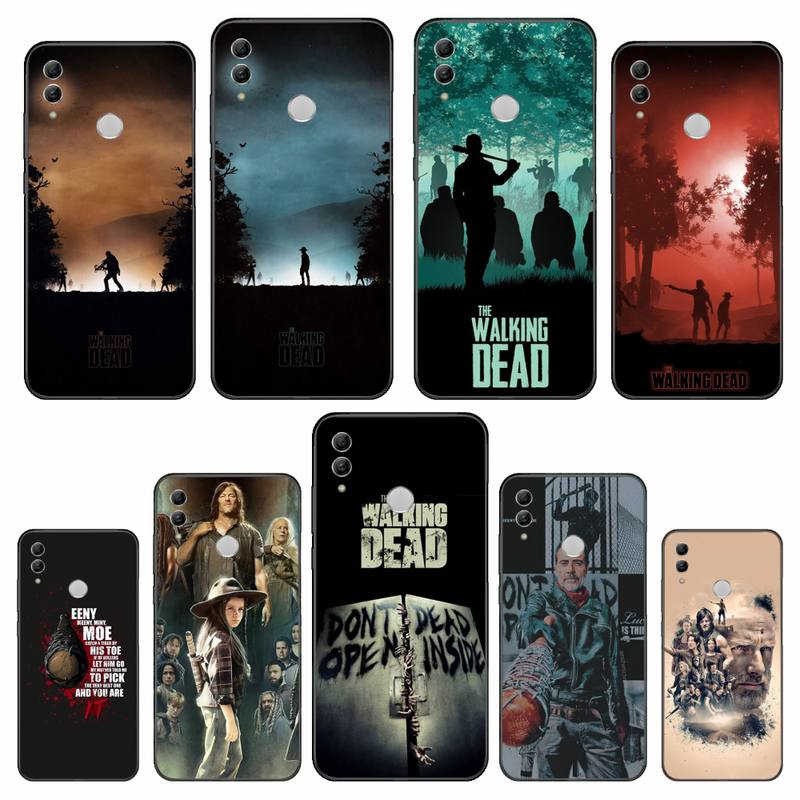 Hot TV el caminar muerto Bling caso lindo teléfono para Huawei Honor ver 7a5.45inch 7c5.7inch 8x 8a 8c 9 9x10 20 10i 20i lite pro