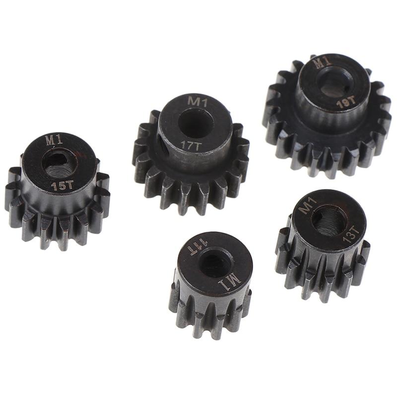1 unidad M1 5mm 11t 13t 15t 17t 19t Motor de piñón equipo combinado para 1/8 Rc Motor de coche