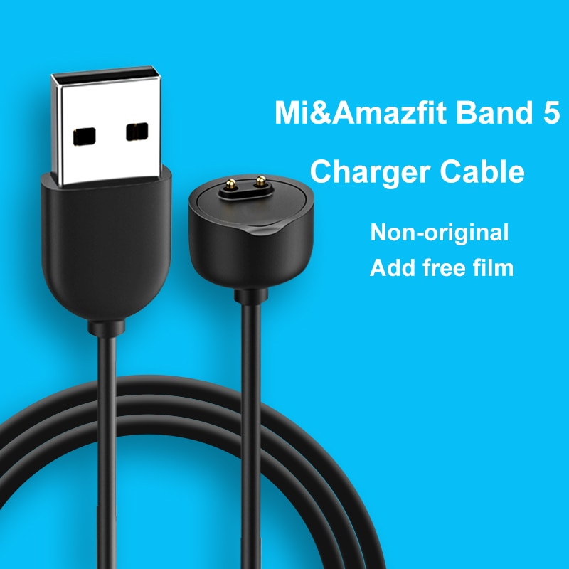 Charger Cable for Xiaomi Band 5 Smart Wristband Bracelet Mi Band 5 USB Magnetic Watch Charging Cable
