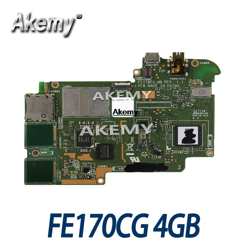 Placa base de tableta Amazoon FE170CG para For Asus ME70CX, placa base...