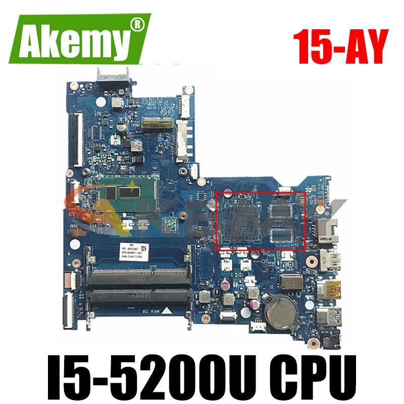 Akemy BDL50 LA-D703P ل HP 15-AY 15-AC دفتر كمبيوتر محمول اللوحة الرئيسية I5 5200U اختبار موافق سريع السفينة