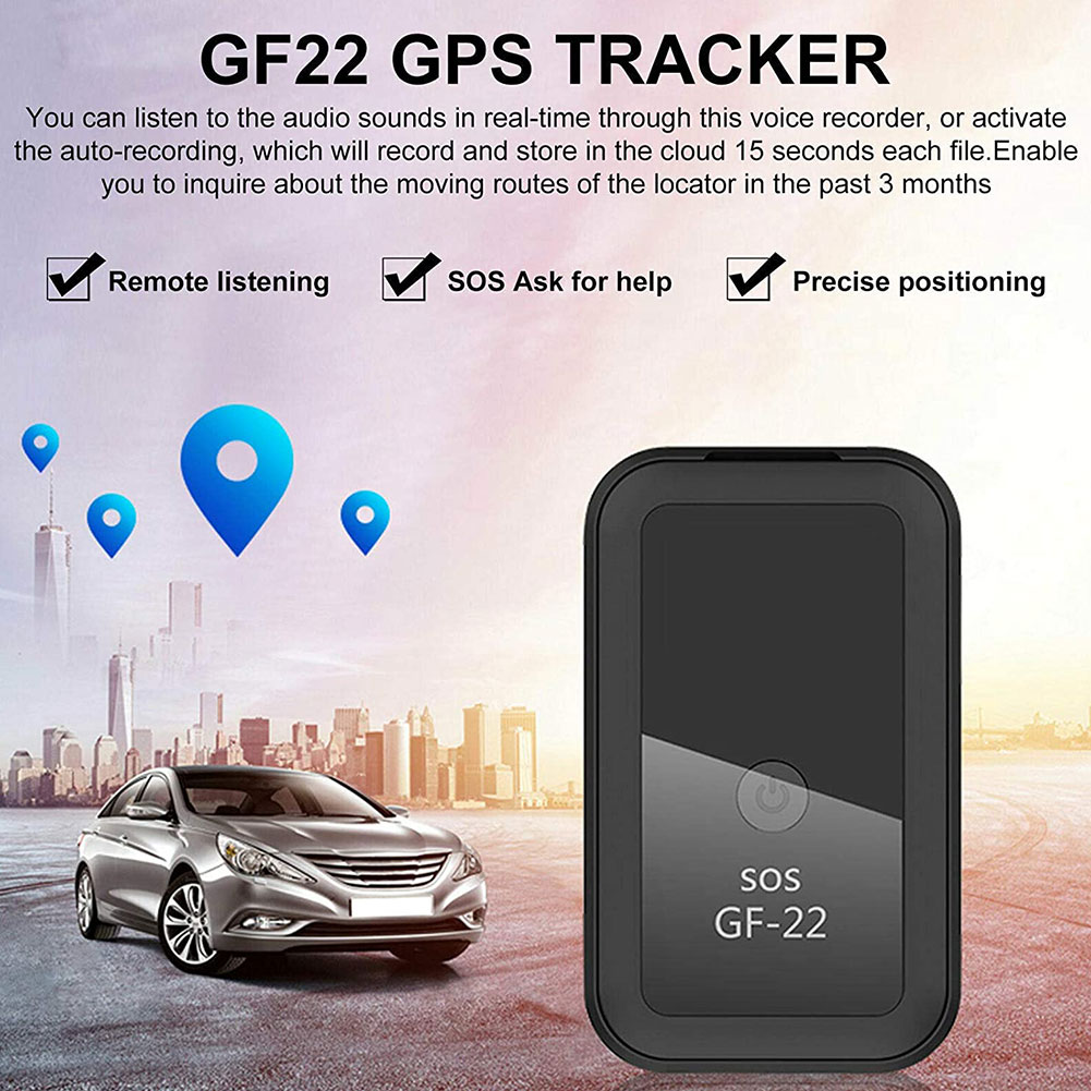 2021 New GF22 Car GPS Tracker Strong Magnetic Small Location Tracking Device Locator For Car Motorcycle Truck Recording Tracking enlarge