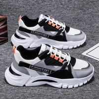 mens shoes spring 2021 trendy sports casual borad shoes versatile summer breathable sneakers running daddy tide shoes