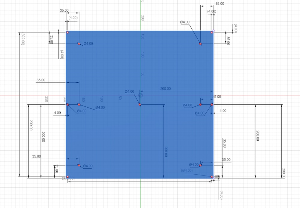 Pedido personalizado a Hungría 400x400mm 240V 800W calentador de silicona