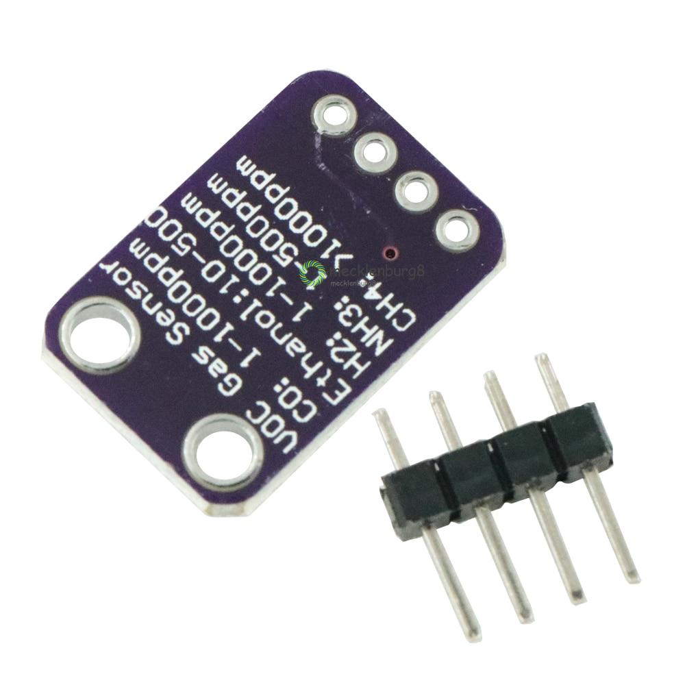 MICS-5524 hidrogênio metano monóxido de carbono sensor de gás módulo de monitoramento da qualidade do ar módulo de detecção de MICS5524 5V DC