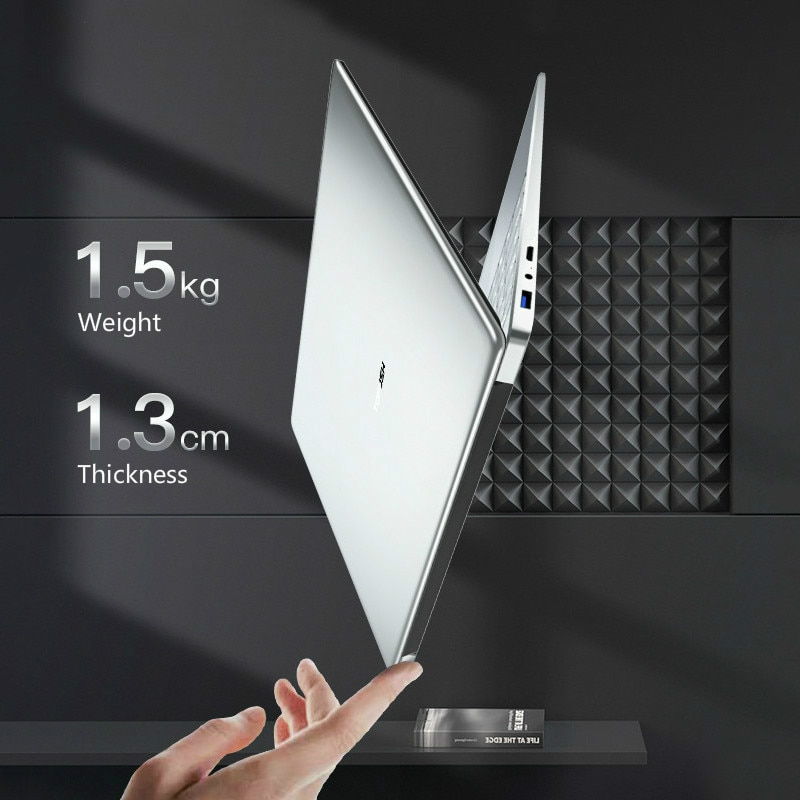 DDR4 RAM 16GB Ultrabook Slim Laptop Notebook Computer 2.4G/5.0G Wifi Bluetooth Intel Celeron 5205U Windows 10 Pro 1920*1080 PC